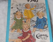 "Simplicity 9346 Toddler Size 2 dress ""Cinderella Clothing"""