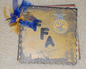 FFA Chipboard Scrapbook album