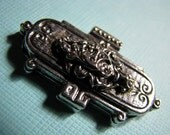 Exquisite vintage silver slider