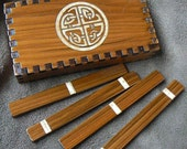 RESERVED Druid Sticks Cedar Willow Boxed Set