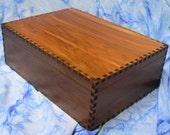 8x6x3 Large Red Cedar Storage Box