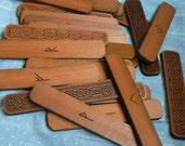 4 inch Elder Futhark Cedar Rune Staves