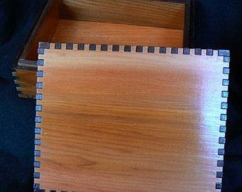 5.5 x 4.5 x 1.8 Simply Cedar Tarot Box