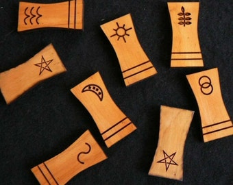 Cedar Witches Rune Sticks