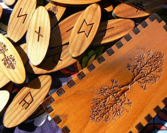 Tree of Life Northumbrian Runes Boxed Set