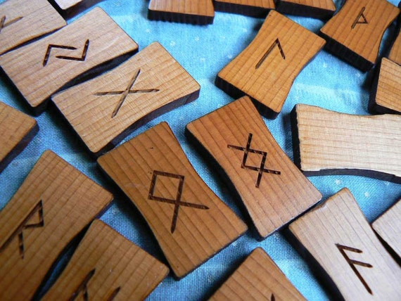Elder Futhark Rune Sticks