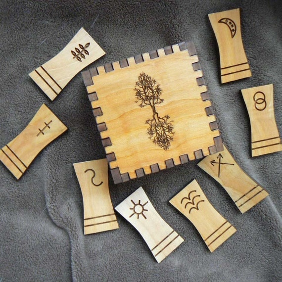 Tree of Life Witches 8 Rune Set