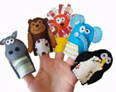 Fun with the Zoo Animals Finger Puppets