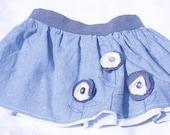 Children's / Babies Flower Skirt