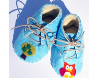 Baby Owl Booties / Shoes / Boys / Girls Clothes / New Baby Gift