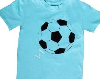 Soccer Tee Shirt / Football T-Shirt / Boys Clothing / Baby Clothes