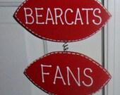Football Hanging Sign