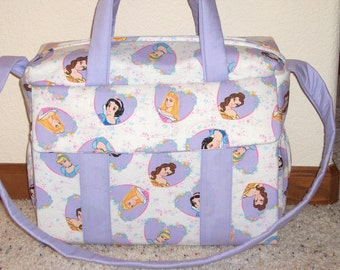 Disney Princess Diaper Bag w/change pad by EMIJANE