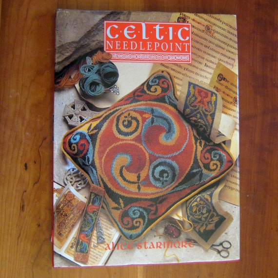 Celtic Needlepoint Alice Starmore 1994 Hardcover Book