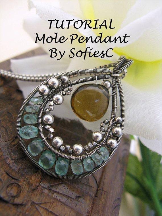 TUTORIAL - Mole Pendant - New