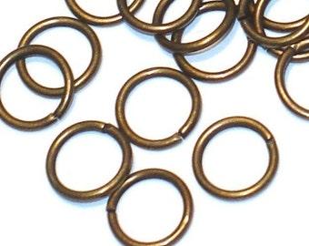 500 pcs of antiqued brass jumpring 8mm