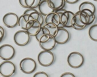 500 pcs of antiqued brass finished  jumprings 5mm 16 gauge