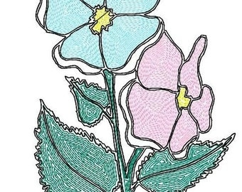 Letzrock Machine Embroidery Designs...1603  for mylar