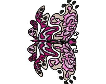 Mylar Butterfly  Machine Embroidery Set by LetZRocK