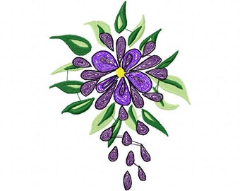 Beautiful  Machine Embroidery Design  by LetZRocK (2074)