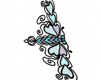 Beautiful  Machine Embroidery Design  by LetZRocK (2048)