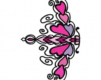 Beautiful  Machine Embroidery Design  by LetZRocK (2044)