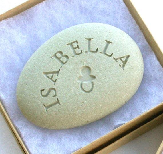 Celebrate Life - Baby Rocks - Customized Double Sided Engraving