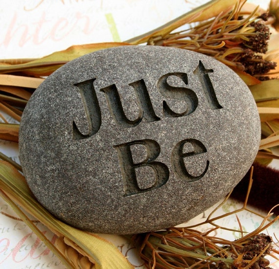 Inspirational Stone Engraved Word Stones By Sjengraving On