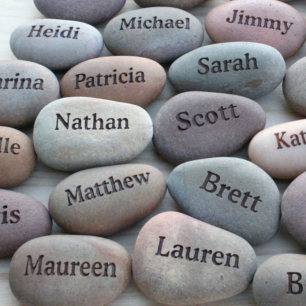 Personalized Wedding Favors With Guests 39 Names Set By Sjengraving