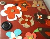 Crazy Seasons Scrapbook - WILD FLOWERS