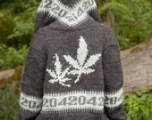 Women's Weed cardigan