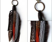 Feather Keychain Accessory