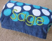 Personalized Beach/ Pool Towel for boys  BRAND NEW