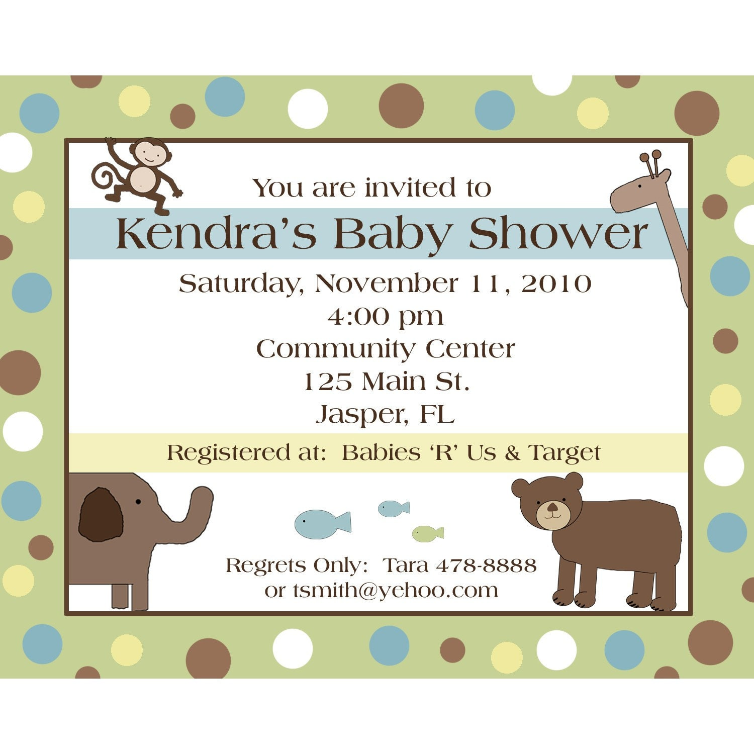 20 baby shower invitations personalized wild things