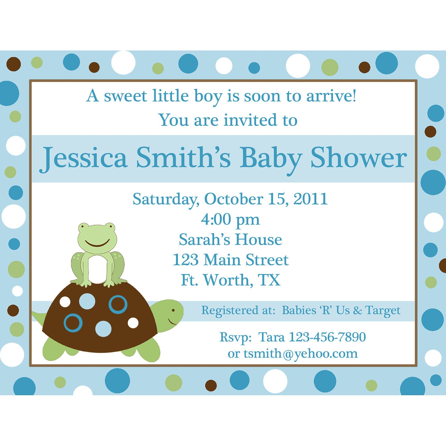 Turtle Baby Shower Invitations and get inspiration to create nice invitation ideas
