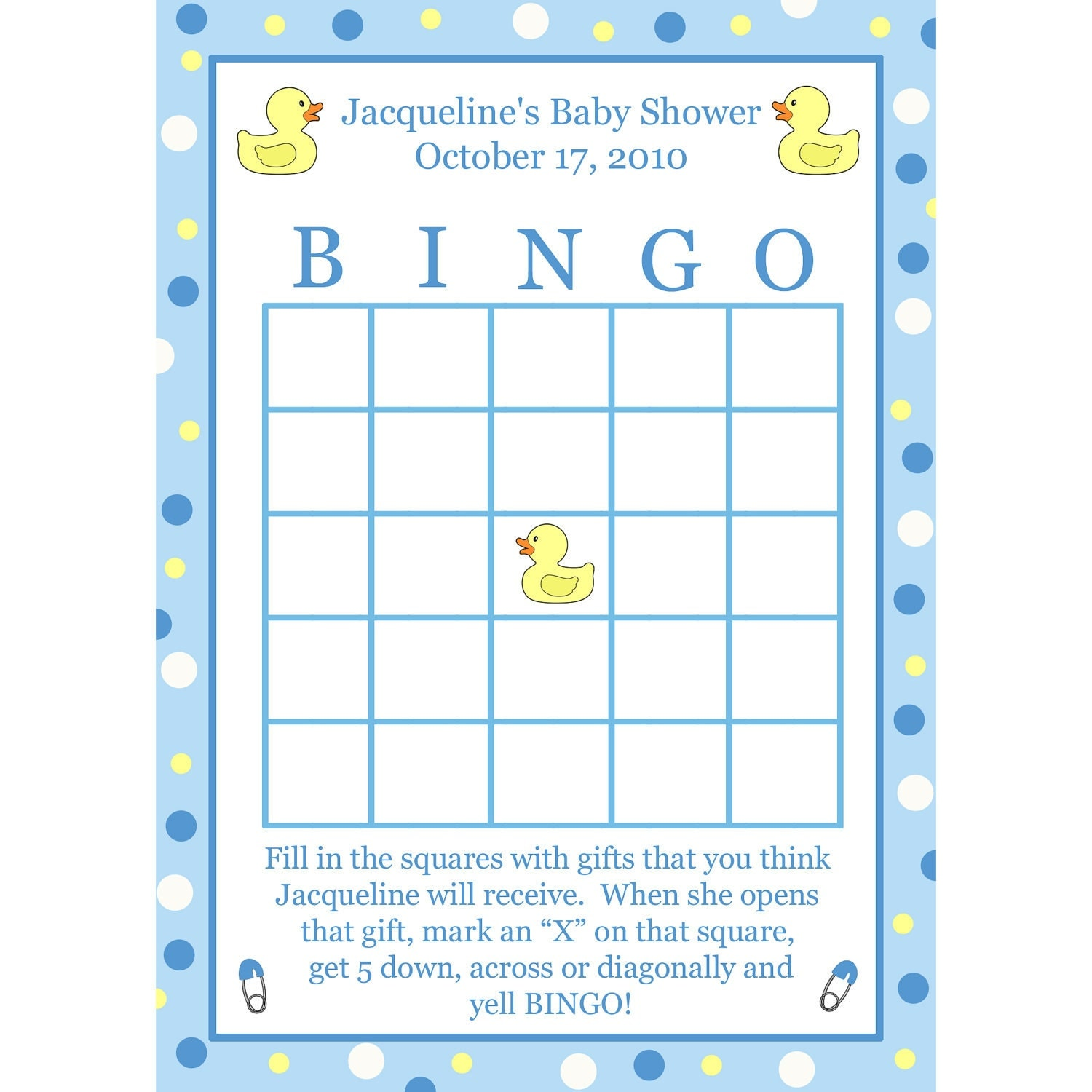 baby shower bingo deals on blocks baby shower
