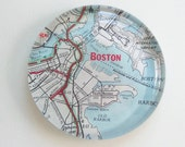 Vintage Map Paperweight - choose your Region