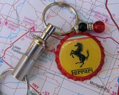 CLEARANCE - What About The Man - Ferrari Key Ring