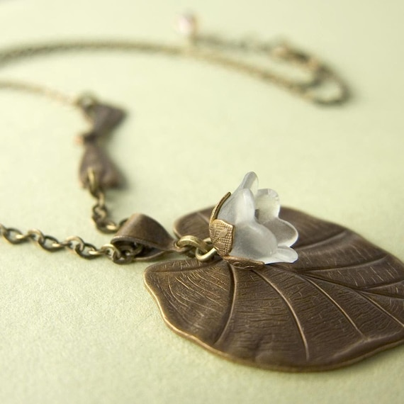 Waterlily Landing II Necklace