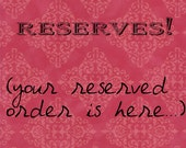RESERVED ITEM for staciemarie1