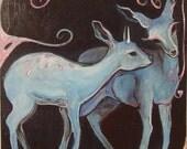 Little Blue Deer