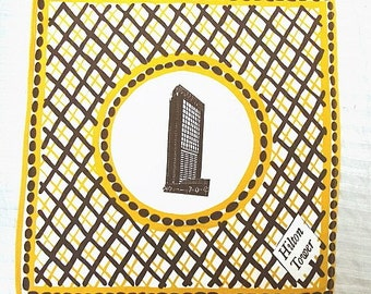 Vintage Hilton Tower Towels