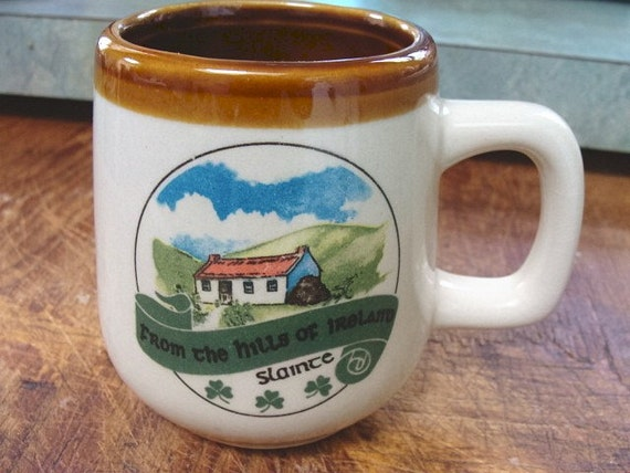Vintage Irish Hills Mug