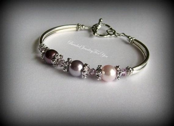 Bridesmaid Bracelet: Bridesmaid Jewelry, Wedding Party Jewelry, Bridesmaid Jewelry, Bridal party gift, Pearl Wedding Jewelry, Bride