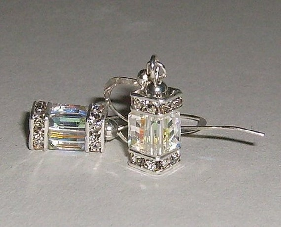 Swarovski Crystal AB Earrings