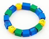 1x1 greenblue kids bracelet