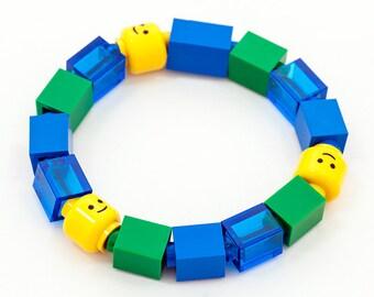 1x1 greenblue kids bracelet
