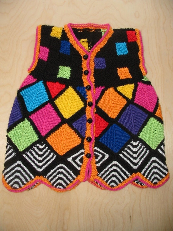 Modular Knitting Dress/Jacket Pattern