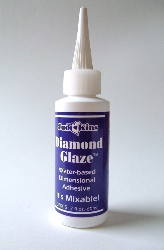 RESERVED FOR JASON - Diamond Glaze Adhesive - one 1 ounce bottle