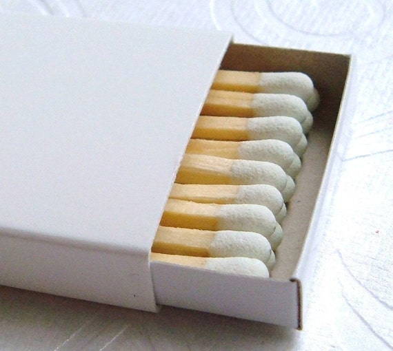 Plain Match Boxes - Set of 50